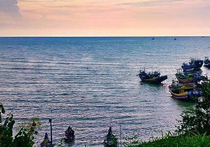 Wisata Bahari Pantai Binangun Indah Rembang Jateng Keindahan Semakin Lengkap