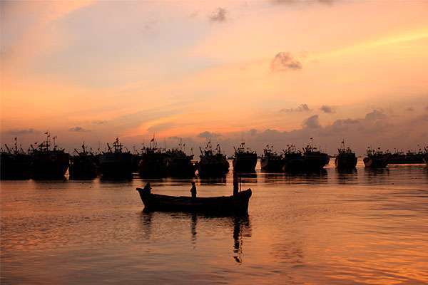 Wisata Bahari Pantai Bonang Binangun Rembang Lokal Indonesia Indah Kab