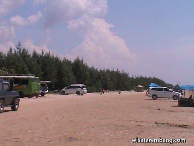 Keindahan Wisata Pantai Caruban Lasem Rembang Gambar Gedong Berseri Kab
