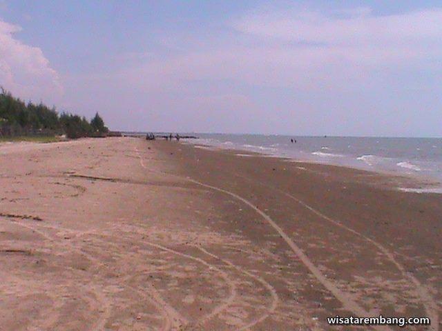 Keindahan Wisata Pantai Caruban Lasem Rembang Kab