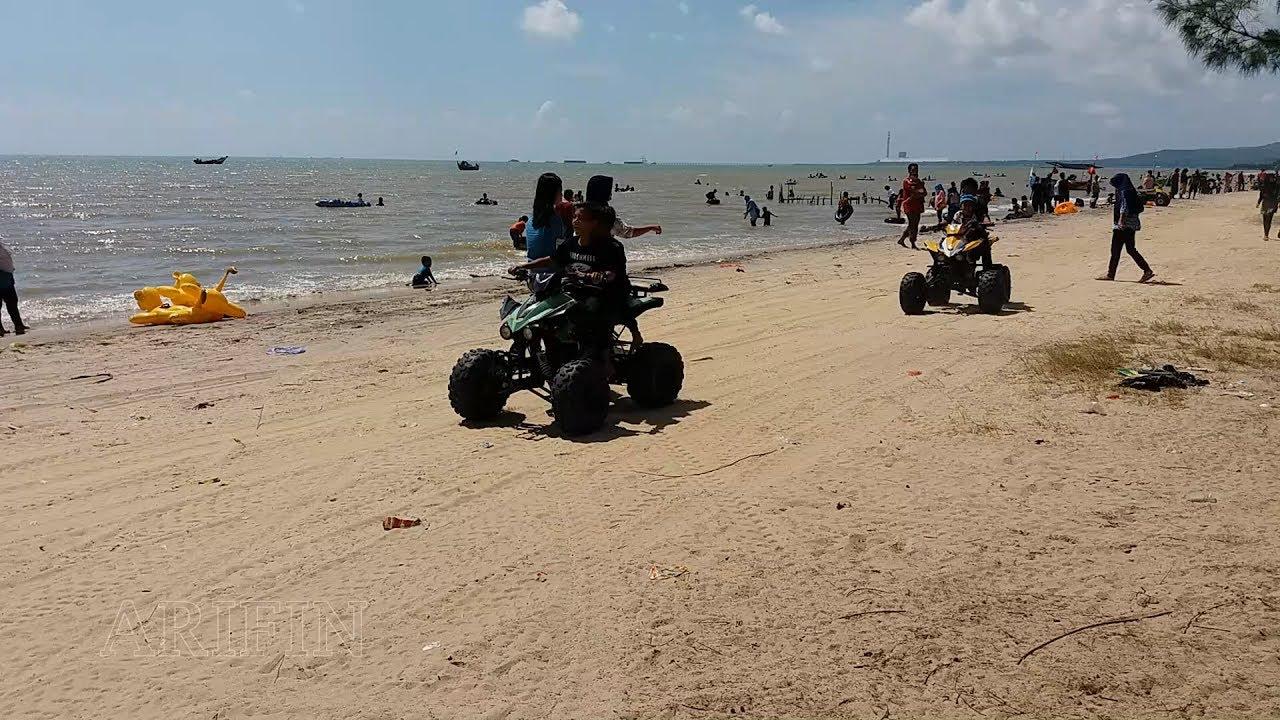 Kupatan Syawalan Wisata Pantai Caruban Lasem Rembang Youtube Kab