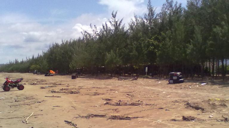Pantai Caruban Lasem Rembang Trip Jalan Kab
