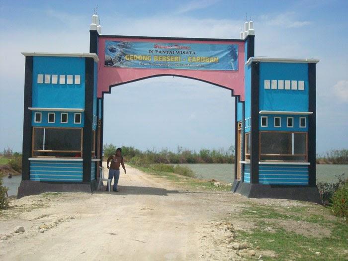 Pesona Wisata Pantai Caruban Lasem Rembang Bangkit Salah Satu Wilayah