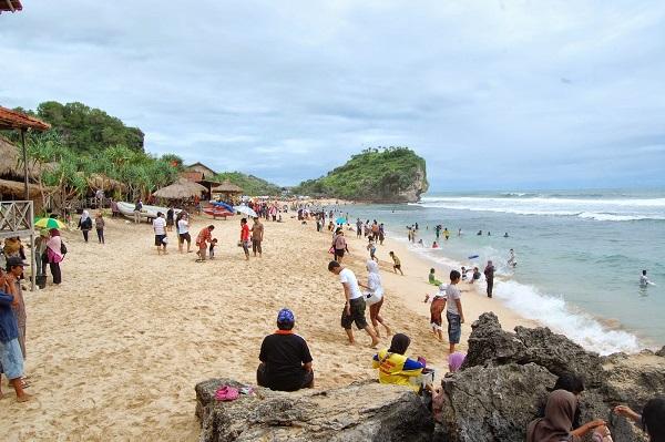 2 Lokasi Pantai Jatisari Sluke Rembang Banyuwangi Hits Keindahan Potensi