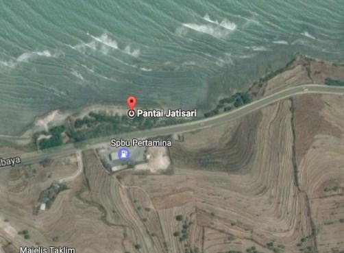 Pesona Keindahan Wisata Pantai Jatisari Sluke Rembang Jawa Tengah Demikianlah