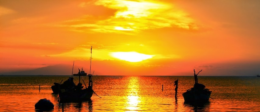 Pesona Pantai Jatisari Sluke Tanah Lot Rembang Tukang Info Kab