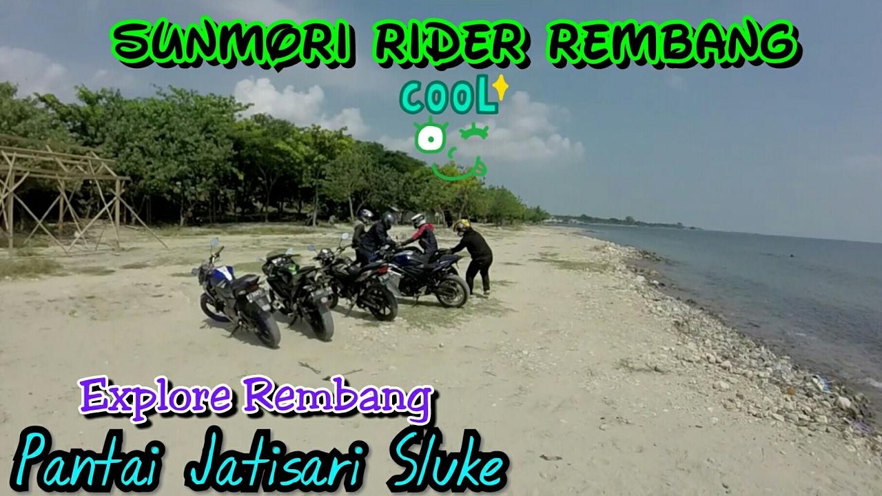 Sunmori Explore Wisata Pantai Jatisari Sluke Kab Rembang Yunius Motovlog