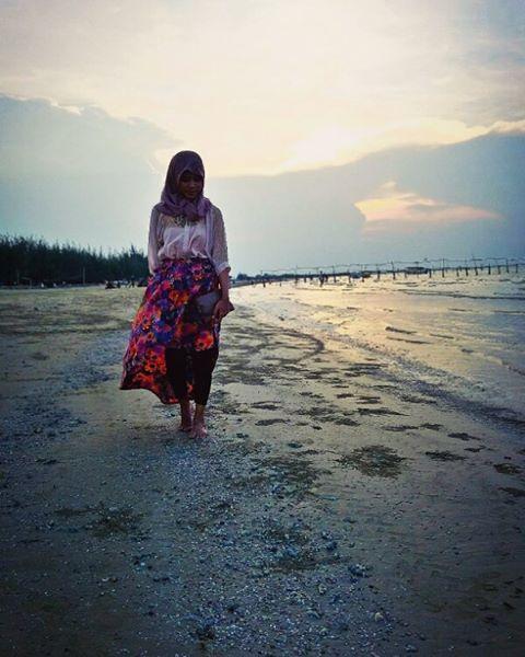 Butuh Vitamin Sea Datang Pantai Karang Jahe Kabupaten Utara Berpasir
