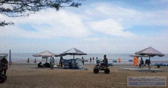 Fasilitas Permainan Atv Pantai Karang Jahe Bakal Dibuatkan Tempat Tampak