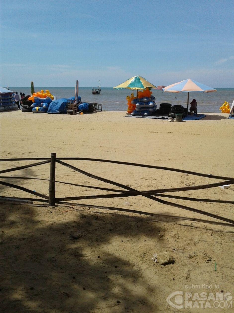 Inilah Pesona Pasir Putih Pantai Karang Jahe Kab Rembang Wisata