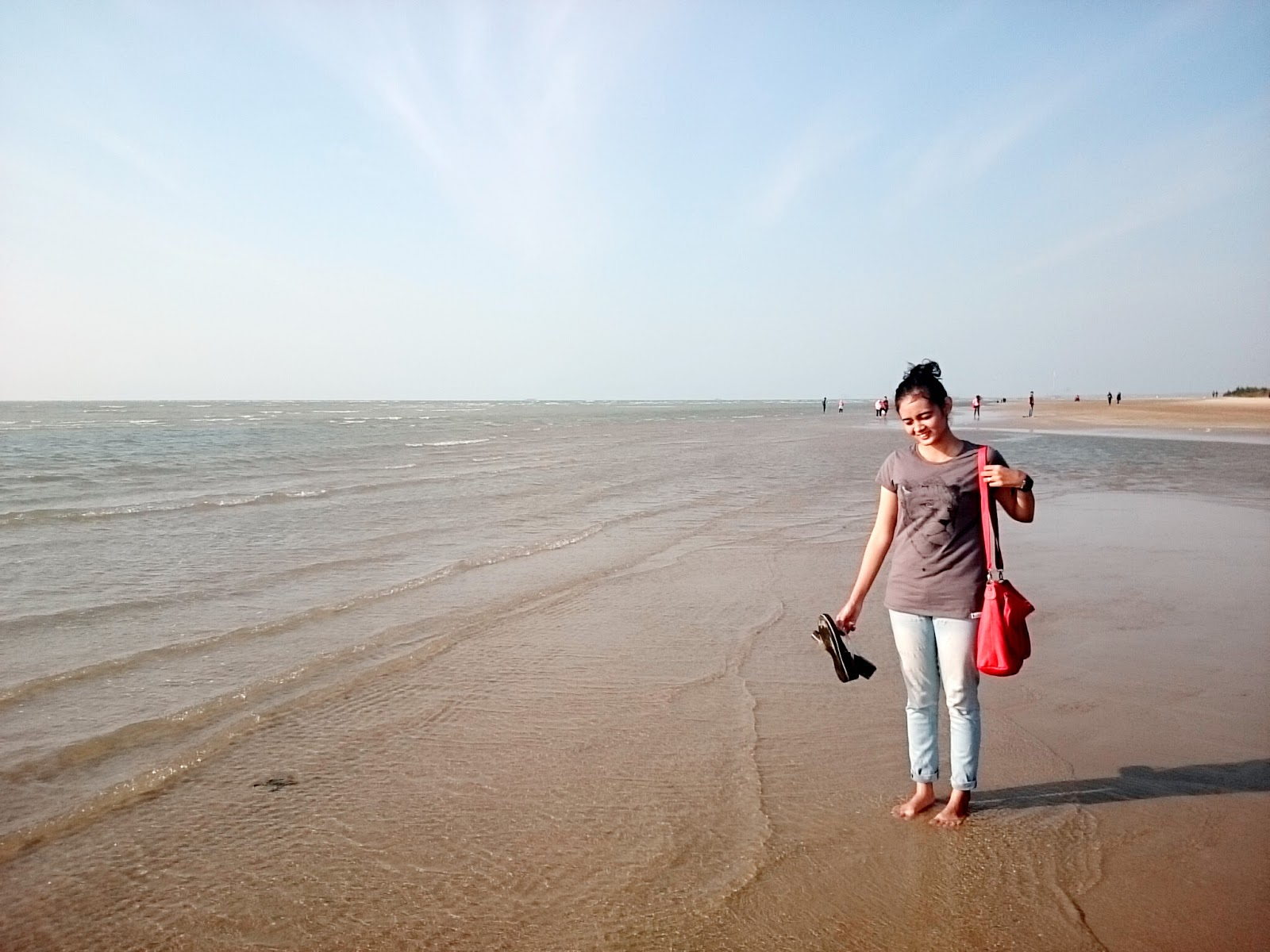 Karang Jahe Beach Lets Happinest Pantai Kabupaten Rembang Kab