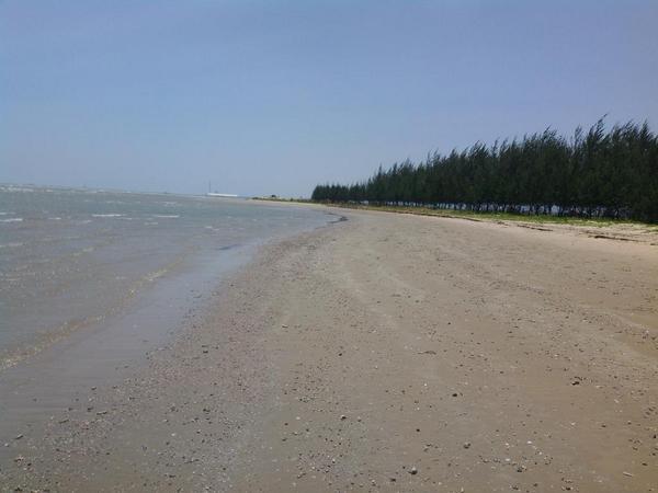 Libur Panjang Pantai Karang Jahe Dipadati Pengunjung Jowonews Rembang Objek