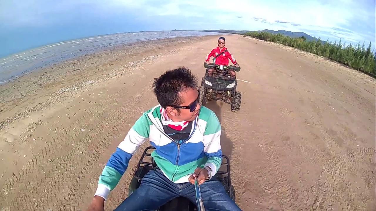 Mjvlog Wisata Pantai Karang Jahe Kab Rembang 2016 Youtube