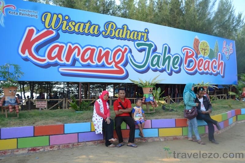 Pantai Karang Jahe Objek Wisata Rembang Jawa Tengah Daftar Kab