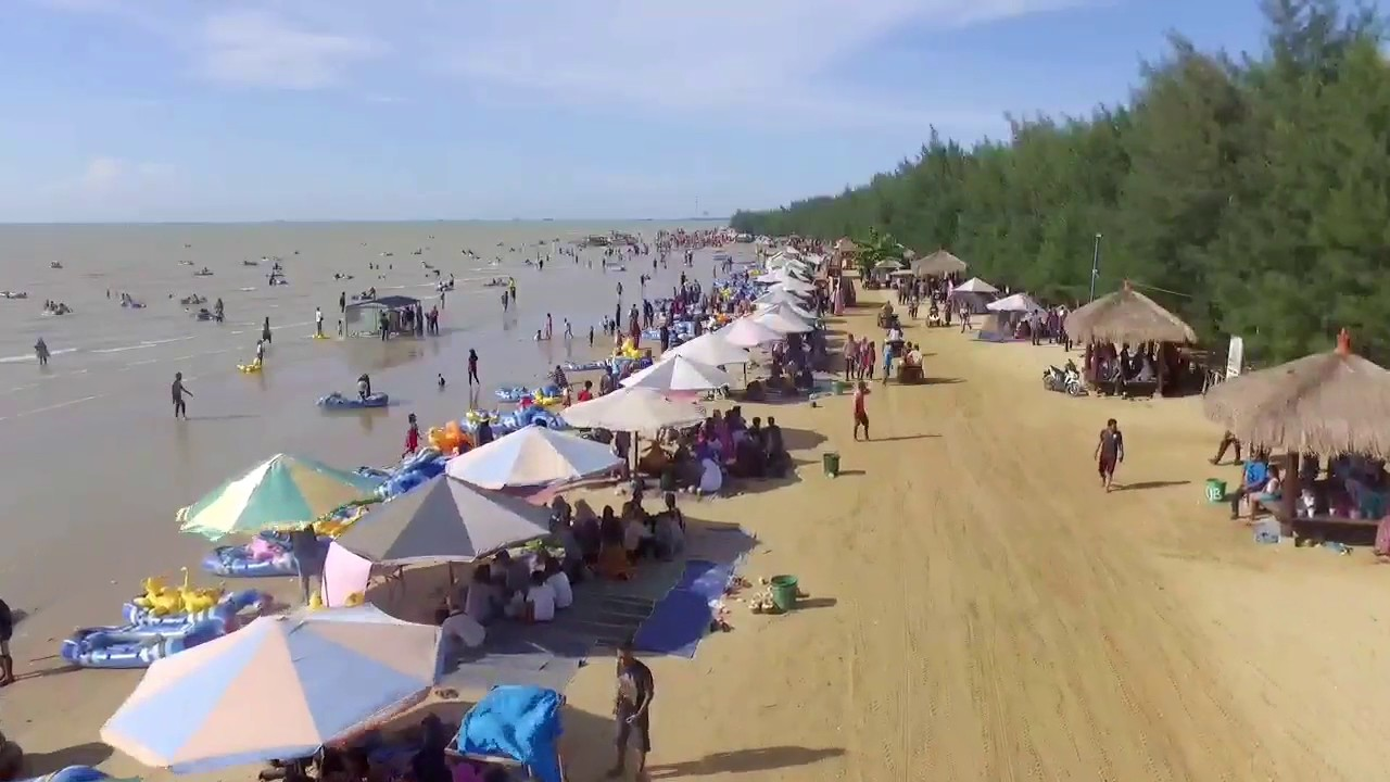 Pantai Karang Jahe Rembang Jateng Youtube Kab