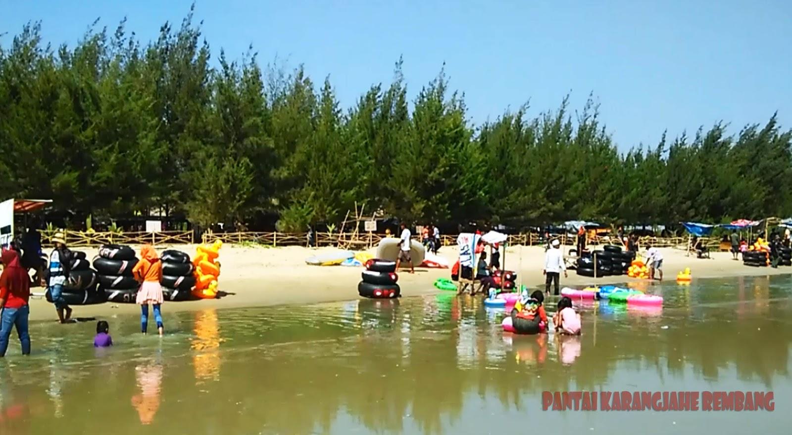 Pantai Karangjahe Menjadi Idola Masyarakat Rembang Metro Pati Karang Jahe