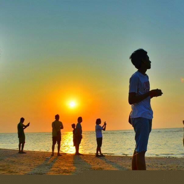 Pariwisata Jawa Pantai Karang Jahe Terletak Desa Punjulharjo Kecamatan Rembang