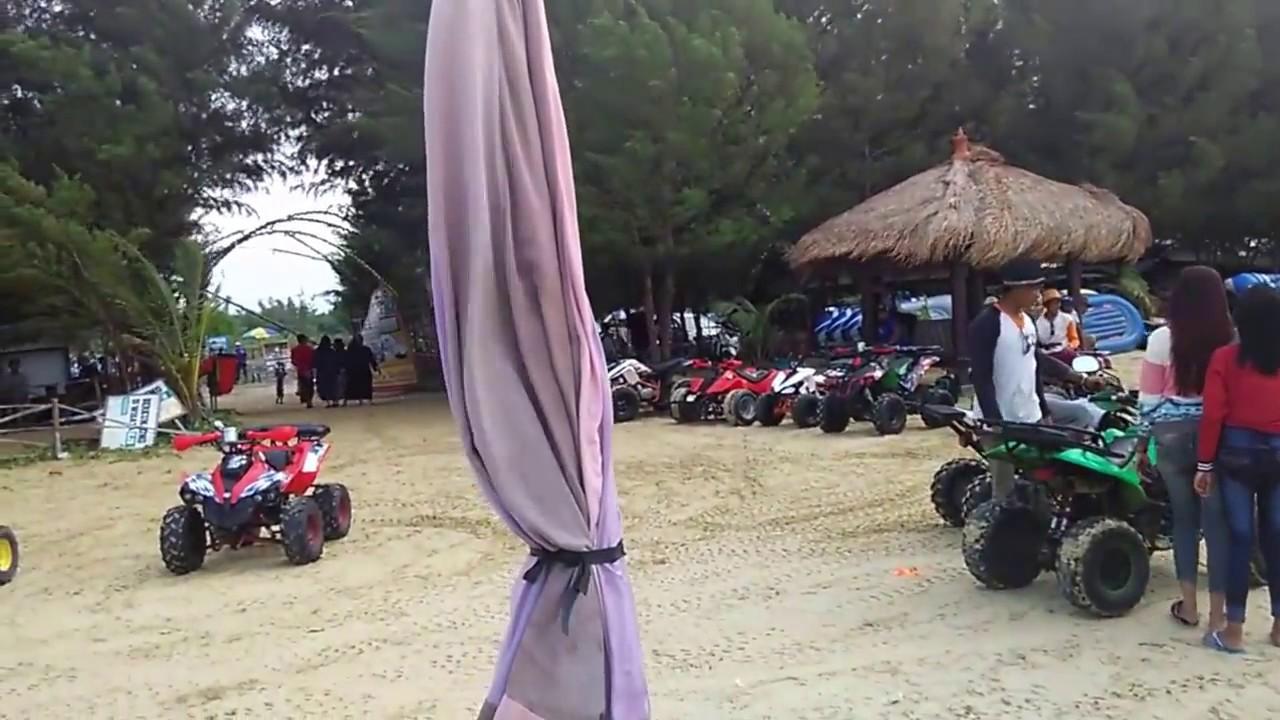 Pesona Keindahan Pantai Karang Jahe Rembang Lengkap Berbagai Permainan Wisata