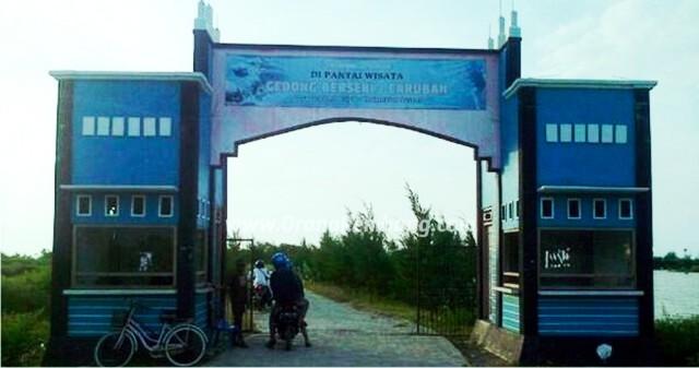 Wisata Pantai Caruban Kab Rembang Jpg Karang Jahe