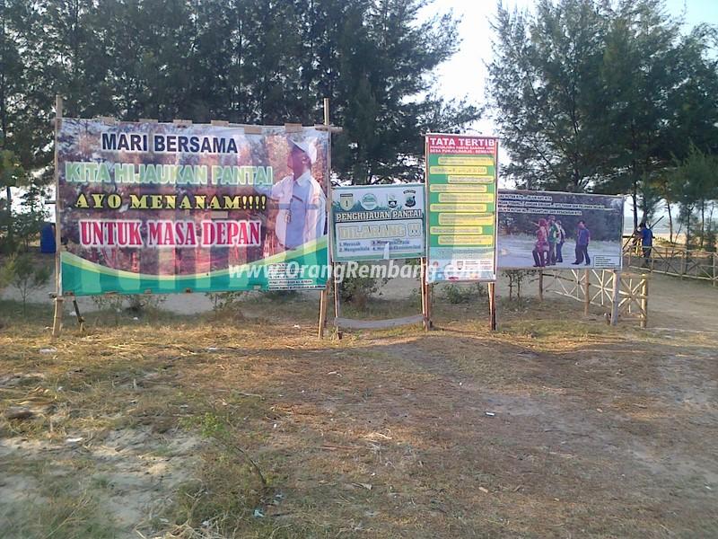 Wisata Pantai Karang Jahe Kab Rembang Berikut Foto