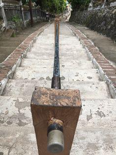 Makam Putri Cempo Situs Pasujudan Sunan Bonang Lasem Rembang Tangga