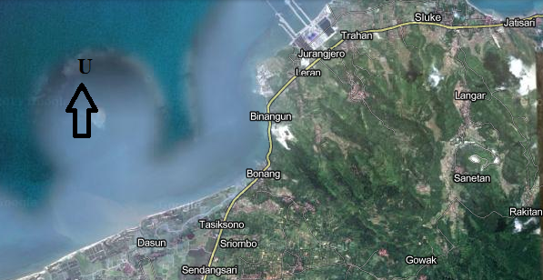 Penjamasan Bende Becak Desa Bonang Kecamatan Lasem Kabupaten Rembang Terletak