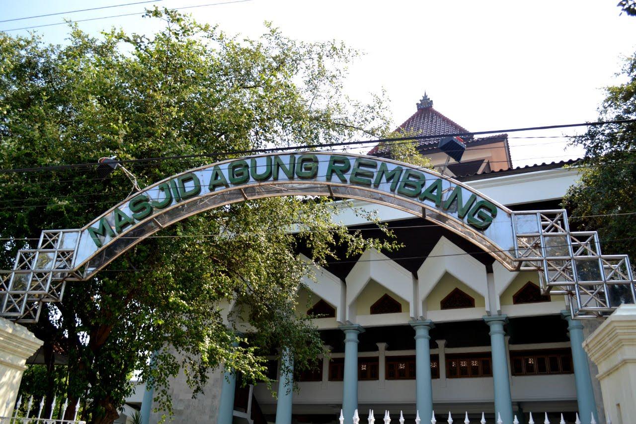 5 Tempat Wisata Religi Rembang Traveling Yuk Masjid Agung Image