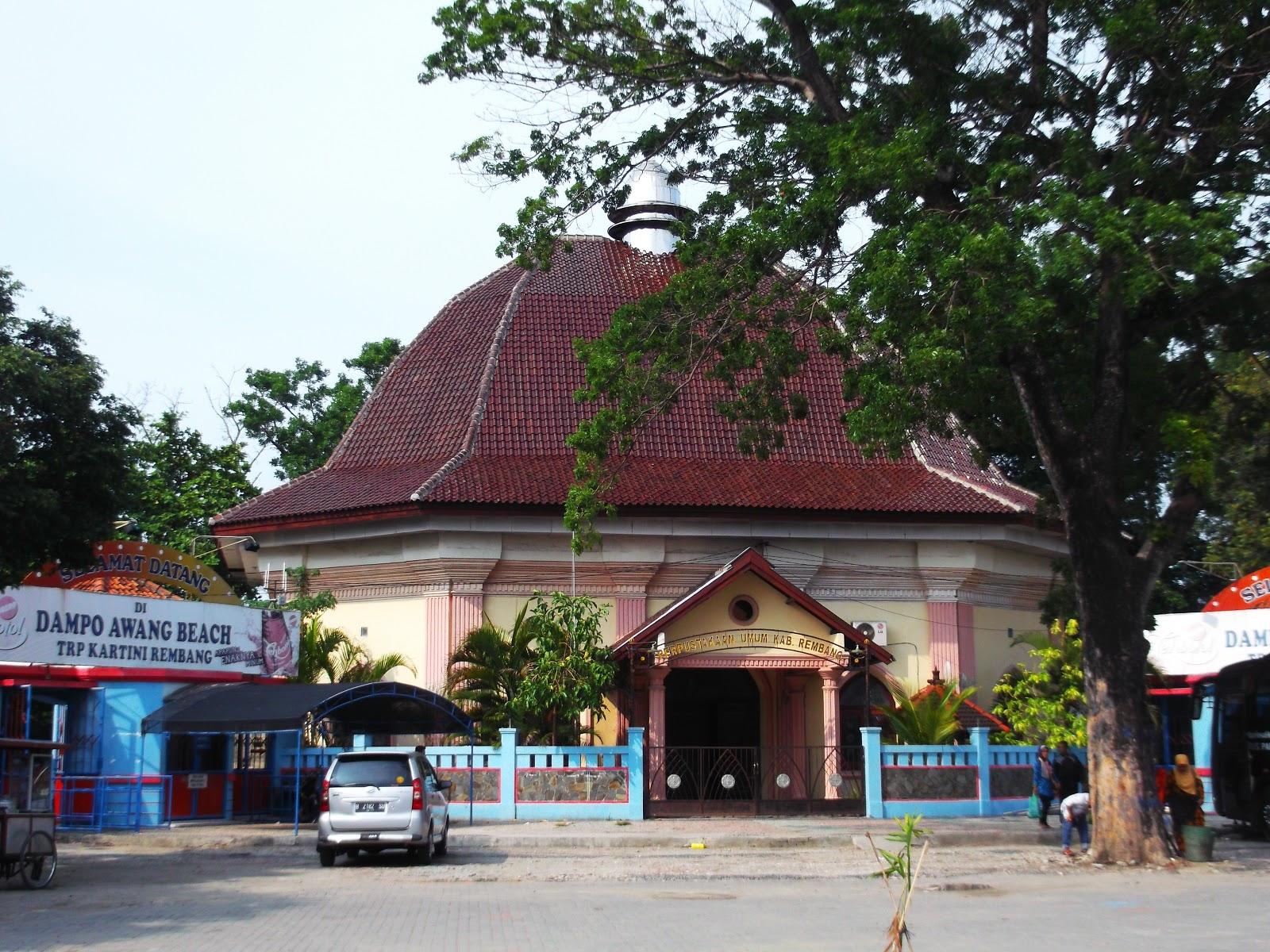 Gedung Perpustakaan Umum Kabupaten Rembang Kekunaan Berdasarkan Peraturan Daerah Nomor