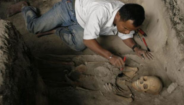 Kerangka Manusia Prasejarah Ditemukan Rembang Nasional Tempo Rangka Perkirakan Berusia