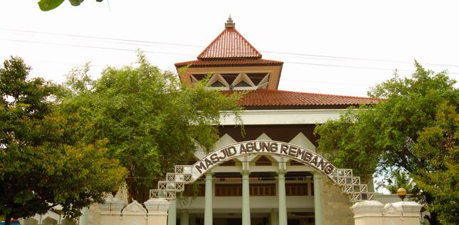 Masjid Jami Rembang Dunia Jakarta Islamic Centre Situs Sejarah Kota