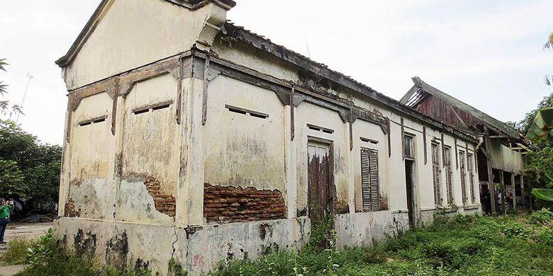 Menelusuri Jejak Sejarah Kota Tua Halaman Kompas Kondisi Kantor Stasiun