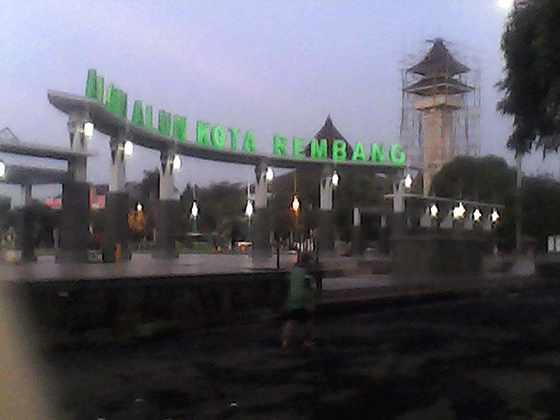 Menikmati Kota Rembang Garam Kangyantok Kabupaten Situs Sejarah Kab