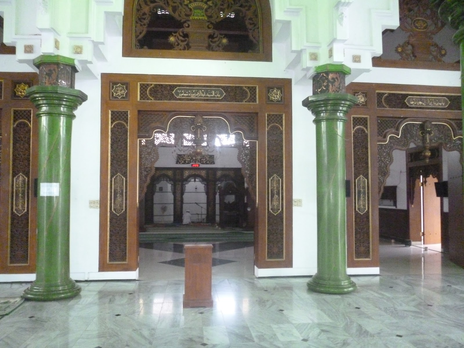Sejarah Masjid Jami Lasem Rembang Berdirinya Mempunyai Keterkaitan Kota Dikenal