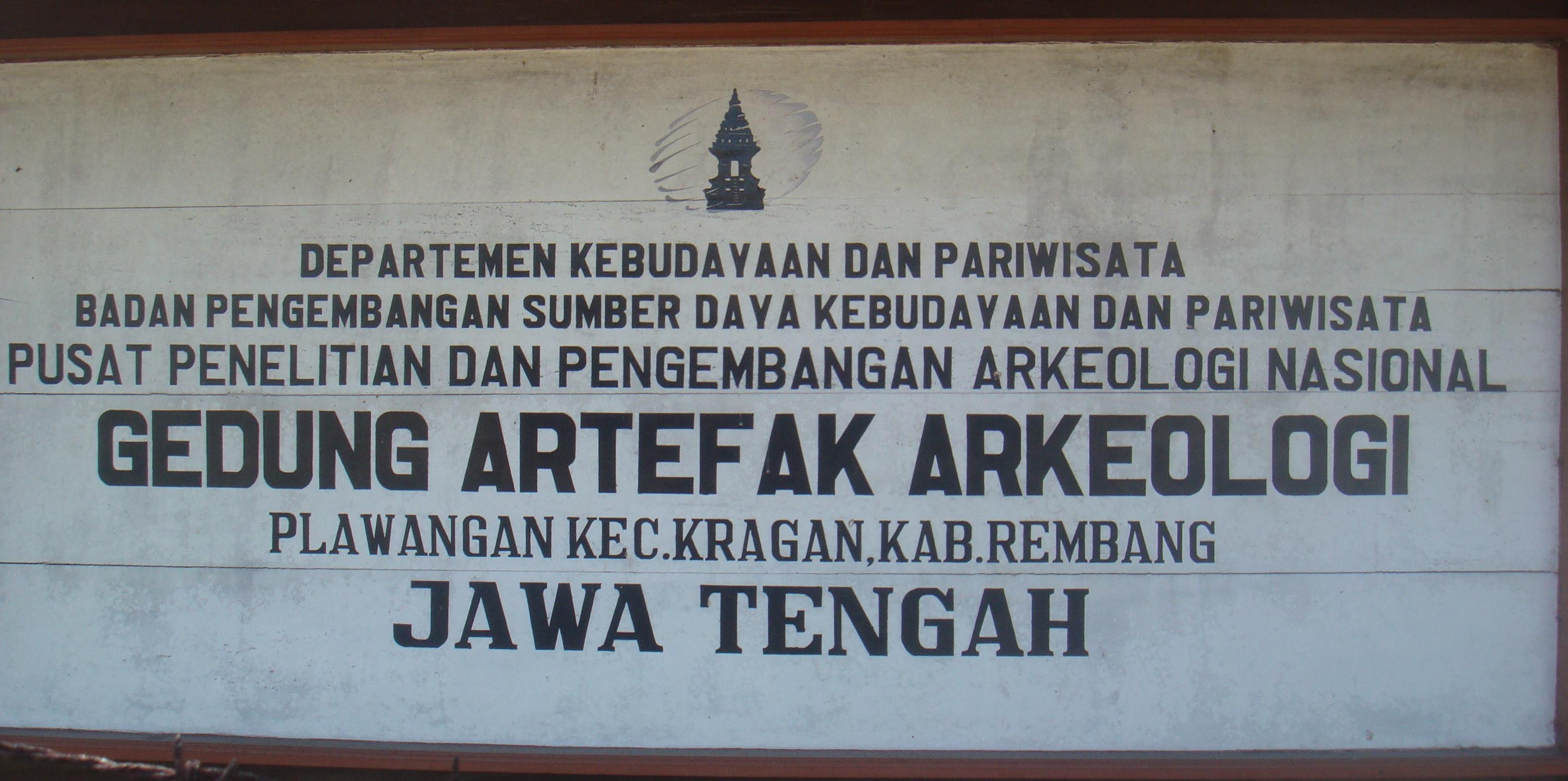Situs Arkeologis Plawangan Kabupaten Rembang Berita Kragan Terletak Desa Kecamatan
