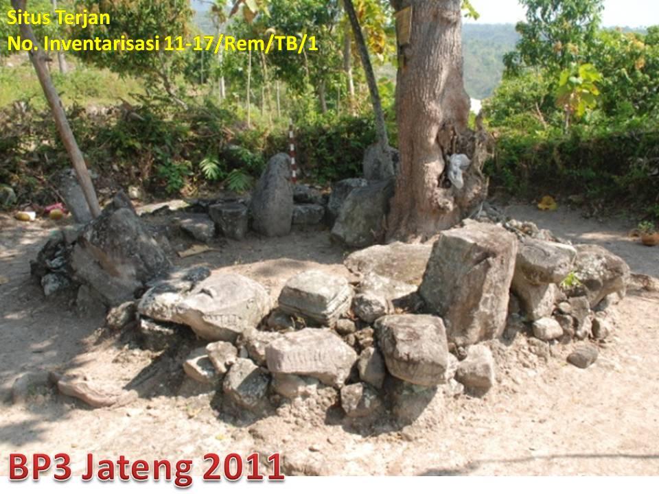 Situs Terjan Kabupaten Rembang Balai Pelestarian Cagar Budaya Jawa Sejarah