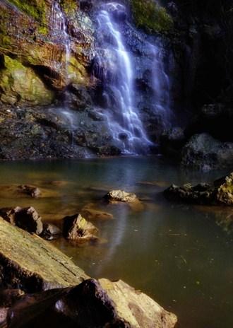 Curug Pasucen Wisata Lokal Rembang Taman Alam Sumber Semen Kab
