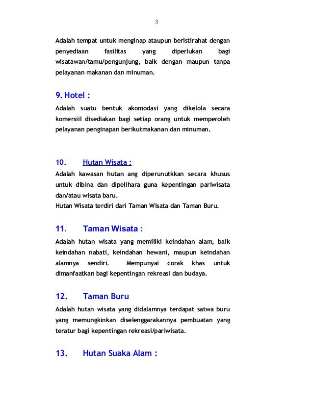 Panduan Wisata Alam Indonesia Akomodasi 2 3 Taman Sumber Semen