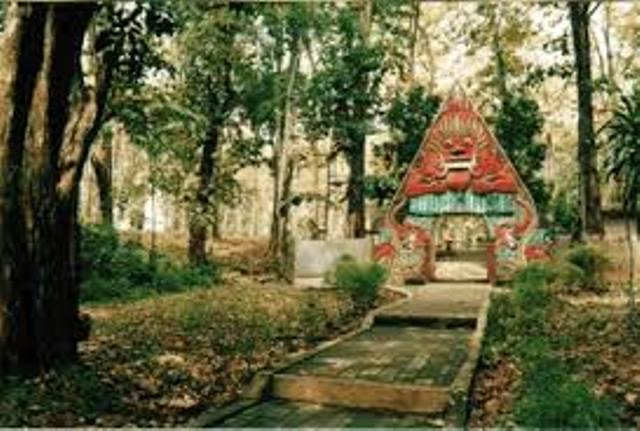 Hutan Wisata Sumber Semen Taman Kab Rembang