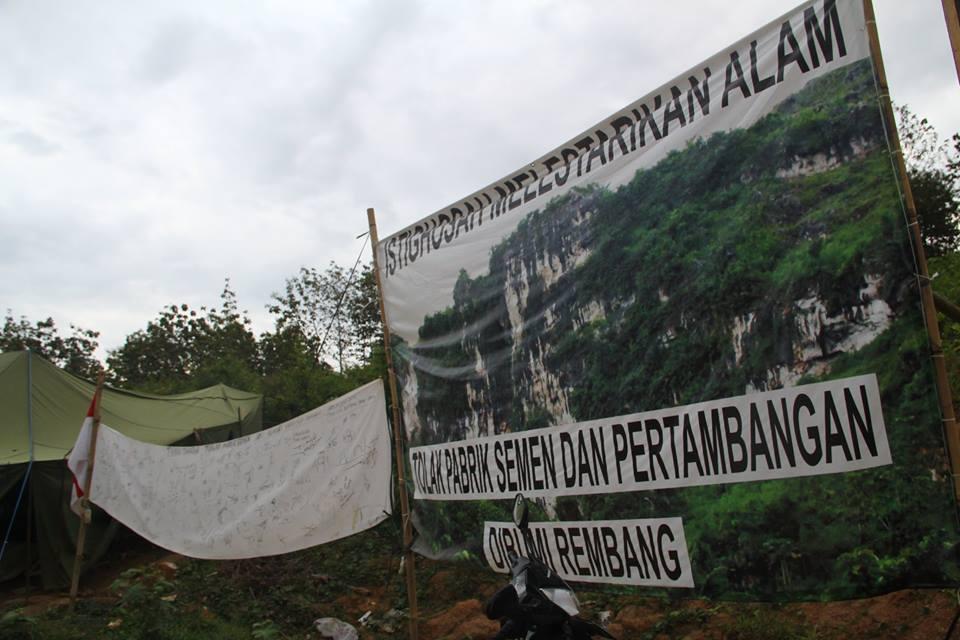 Masyarakat Speleologi Indonesia Fokus Liputan Kemelut Pabrik Semen Rembang Tak