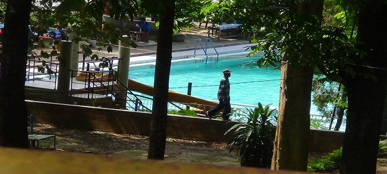 Kedalaman Kolam Renang Mantingan Diperdangkal Alasannya Wana Wisata Kartini Kab