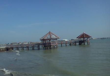 Obyek Wisata Taman Kartini Dampo Awang Beach Rembang Gambar Keindahan