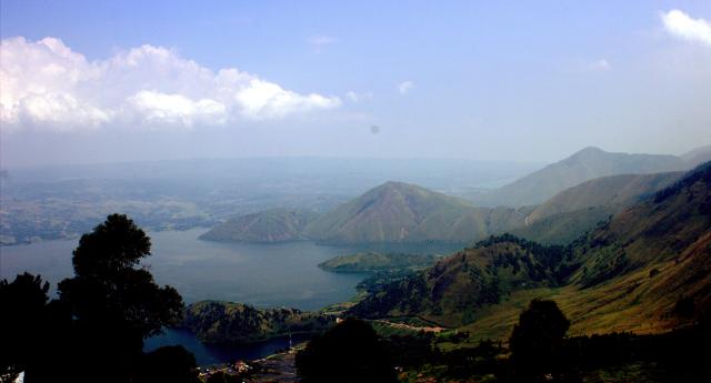 Great Scenery Samosir Menara Pandang Tele Lexyleksono Sipinsur Kab