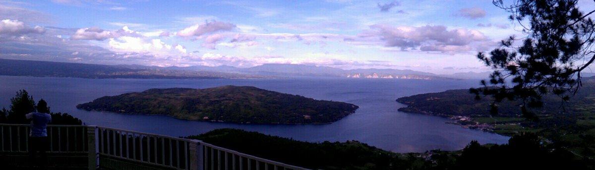 Sipinsur Feedyeti Panorama Sibandang Island Tobalake Tobalakefestival Northsumatra Kab Samosir