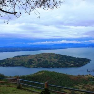 Sipinsur Keindahan Danau Toba Atas Bukit Wonderful Kab Samosir
