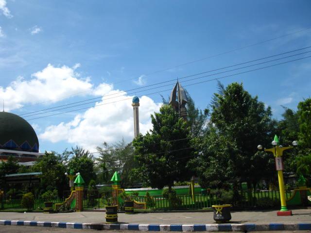 Foto Kota Sampang Monumen Trunojoyo En Kab