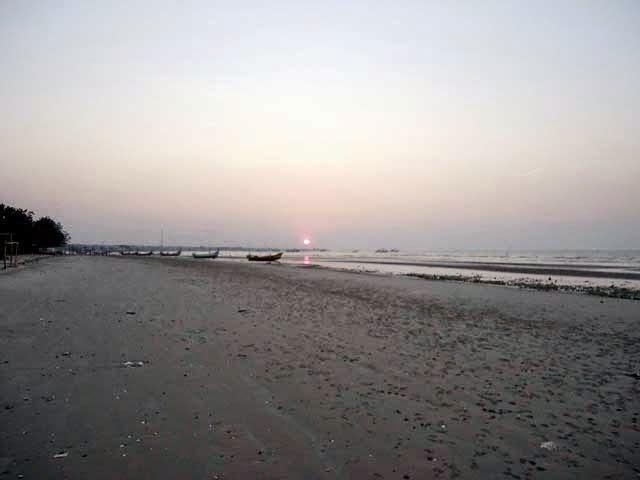 Pantai Camplong Sampang Madura Aslih Madureh Sore Hari Monumen Trunojoyo