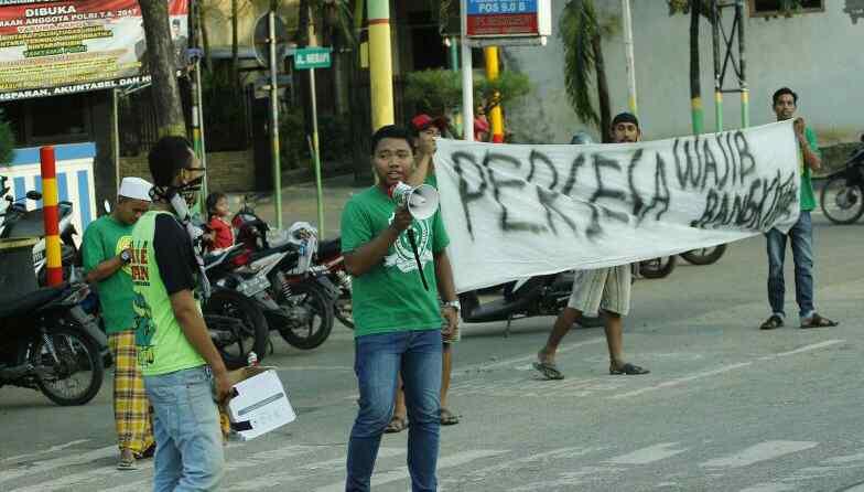 Sindir Pemkab Sampang Trunojoyo Mania Galang Koin Persesa Bolamadura Monumen