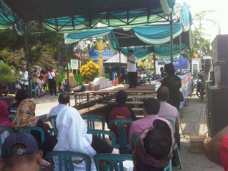 Wartawan Lsm Sampang Gelar Aksi Damai Peringati Hari Nasional Korupsi