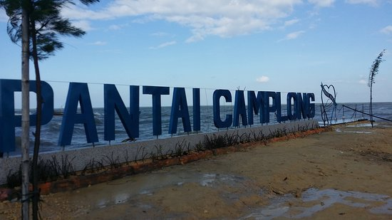 Camplong Beach Picture Sampang Tripadvisor Pantai Wisata Hotel Resto Kab