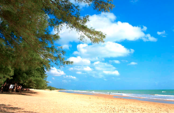 Keindahan Pantai Pulau Jawa Camplong Jadi Balapanya Dipasir Pantainya Menarik